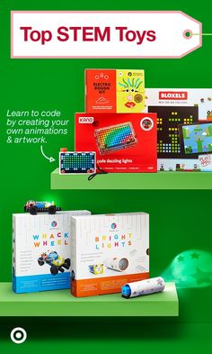 Give the gift of learning this holiday with STEM toys like Electro Dough, Kano Pixel Kit & more.