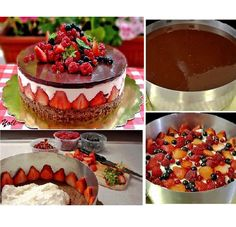 Sweetooth Design: Blog for Creative Recipes & Sweets History Knowledge | How to Make Fraisier Cake