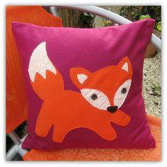 Baby Fox,  cushion. £24.00