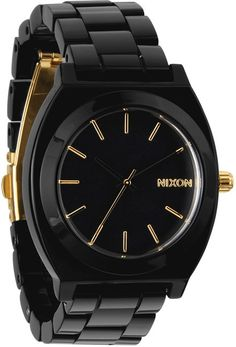 NIXON THE TIME TELLER ACETATE WATCH > Womens > Accessories > Watches | Swell.com #graduation #gradgifts