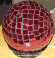 Made from a Bowling Balls