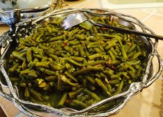 Bacon and Brown Sugar Baked Green Beans - oh yeah everyone loves them and with one spoonful, you'll know why!
