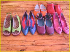 shoes, shoes, shoes. taken in 2005.     Shoes|women|Sandals|Reebok|Nike|Dance|Shoes.http://jeelis.com/Shoes