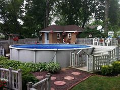 landscaping / pool