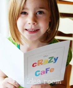 Crazy dinner menu. We did this for my bday party as a kid, but it would be fun for april fools or any fun day! April Fools Day Jokes, April Fools Pranks, Best Day Ever, April 1st, Dinner Menu, Sleepover Party, Activities For Kids, Activity Ideas, Mystery Dinner