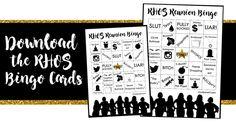 Download RHOS Bingo Cards