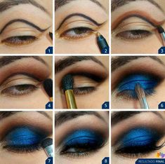 Makeup Tricks and Ideas for Brown Eyes| Best eye makeup step by step...