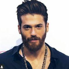 Beard Styles For Men, Hair And Beard Styles, Beautiful Men Faces, Gorgeous Men, David Beckham Photos, Turkish Men, Beard Lover, Awesome Beards, How To Look Handsome