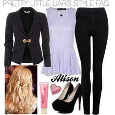 """Pretty Little Liars Alison Dilaurentis #26"" by engelsvictoria on Polyvore"