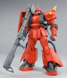 1/100 MG MS-06R-2 Zaku II Ver. 2.0 Johnny Ridden  | Mobile Suit Gundam / 0079 / First | Gunpla | Military Sci-Fi Animé| Mecha Scale Model