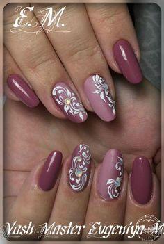 "In Moda For Me: Uñas siempre a la moda "" Pinky nails "" Fingernail Designs, Gel Nail Designs, Pink Nail Art, Pink Nails, Stylish Nails, Trendy Nails, Fancy Nails, Cute Nails, Acrylic Nails"