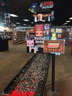 The Lego firewalk!