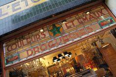L'Etoile Verte, Art Deco Shop in Les Marolles. Brussels. Belgium.