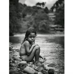 In the village of #Tangkahan known as 'the hidden paradise' of Gunung Leuser National Park in #Sumatra a girl explores photographed by Patrik Olsson @dromomani. To submit your images of growing up for consideration on our feed simply follow @childhoodeveryday and tag your photos #childhoodeveryday. // #childhood #GunungLeuser #nationalpark #water #portrait #blackandwhiteisworththefight #blackandwhite #hiddenparadise