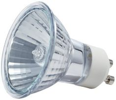 Philips 415737 Indoor Flood 35-Watt MR16 GU10 Base Light Bulb by Philips. $4.99. Philips 35-Watt GU10 Indoor flood light is ideal for use in recessed cans and track light fixtures. They provide a crisp, bright white halogen light and are perfect for accenting your décor. These bulbs should only be used in 12-Volt enclosed fixtures. Light for all of your specialized fixtures. Philips Specialty Incandescent and halogen bulbs provide the perfect light for accent and displa...