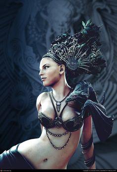 Mistress of Dragons by Daniele Scerra | 3D | CGSociety