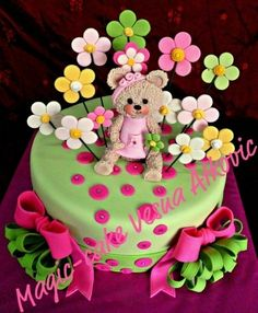 girls teddy bear cakes | Teddy Bears