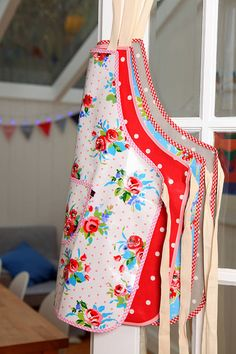 Oilcloth Aprons Vintage Inspired Apron