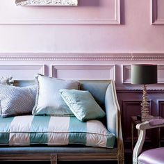 This room looks as luxurious as a spoonful of your favorite ice cream!