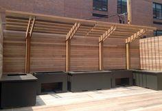 Roof Deck | Ipe | Wood | Planting | Containers | Arbor | Urban | Garden | Landscape | Design