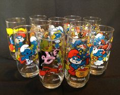 Smurf glasses from McDonalds remember these? 1980s Childhood, Childhood Days, School Memories, Best Memories, 80s Kids, Oldies But Goodies, I Remember When, Ol Days, Good Ole