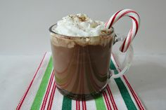 Super Chocolaty Hot Cocoa - A most creamy, rich, decadent, thick, smooth hot chocolate I have ever had!!