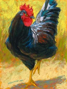 """Widow Chick"" - Original Fine Art for Sale - � Rita Kirkman"