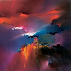 """Windmoving"" by Arvee, 80 x 80cm"