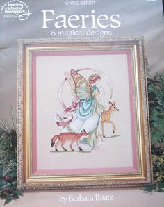 Cross Stitch Faeries Pattern Book by TheHowlingHag on Etsy