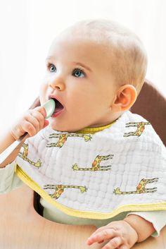 Mon Premier 1st Dîner de Noël Yum bavoir bébé Babys First Keep Sake Bib