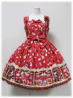 Star Night Theater JSK in red - Angelic Pretty