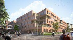 Student accomodation in urban environment