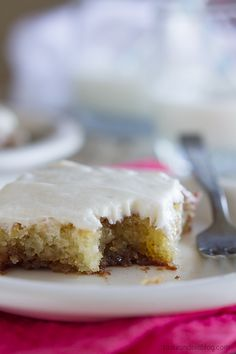 Cinnamon Roll Sheet Cake Recipe