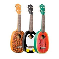 Fruits & Penguin Pineapple Ukulele