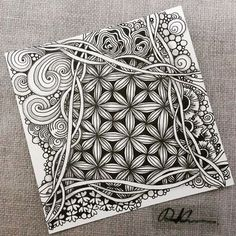 Zentangle 052816. More