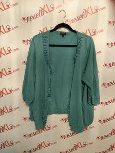 9e62a1d7138bec Elie Tahari Size 2X Coral Merino Sweater