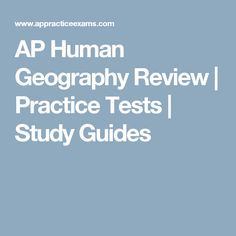 AP Human Geography: The Exam | AP Central – The College Board