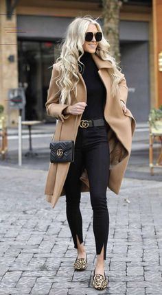 20 Edgy Fashion Outfits to look Forever Young - Fashion Trend 2019 Cute Fall Outfits, Winter Fashion Outfits, Fall Winter Outfits, Autumn Winter Fashion, Casual Outfits, Autumn Fall, Smart Casual Winter Outfits, Smart Casual Women Evening, Black Outfits