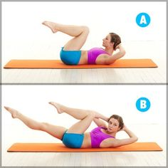 9 Pilates Moves That Burn Major Calories Easy Ab Workout, Beginner Workouts, Pilates For Beginners, Ab Workouts, Beginner Pilates, Pilates Videos, Pilates Moves, Pilates Workout, Pilates Yoga