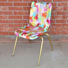 So many cool #DIY chair makeovers in @apttherapy's roundup!