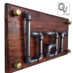 Letrero Vintage para Bar, realizado en Acero Y Madera  , le da un toque industrial a tu bar personal
