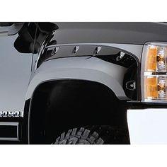 2007-2013 Chevy Silverado 1500 Pocket Style Fender Flare - Front/Rear Kit