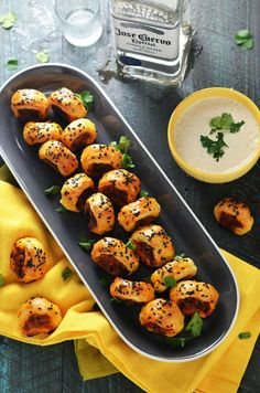 Chorizo, Caramelized Onion and Poblano Sausage Rolls Recipe
