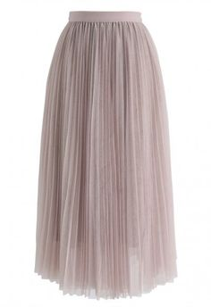 Call out Your Name Pleated Mesh Skirt in Dusty Blue - Retro, Indie and Unique Fashion Chiffon Maxi, Chiffon Fabric, Dusty Blue, Cosmopolitan, Pinker Rock, Velvet Pleated Skirt, Indie, Pink Maxi, Mesh Skirt
