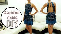 Jazz Ro DIY: Backless dress DIY || Vestido con escote en espald...