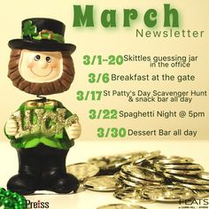 Happy 1st Day of March! We are so excited to share our Monthly Newsletter of upcoming Resident Events! #flatsfam #liveitup #home #flatsatcarrs #flatscarrshill #flatslove #residentevents