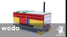 wedobots™:  Radio Box with LEGO® WeDo™ bricks