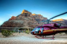 Helicopter Tours from the Grand Canyon West Rim