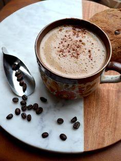 Latte chai - par J'ai toujours aimé le jaune moutarde Chai, Latte, Tableware, Chocolate Ganache, Mustard, Dinnerware, Tablewares, Dishes, Place Settings