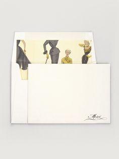 Checkerboard Merci Box Set... Envelope Liner!